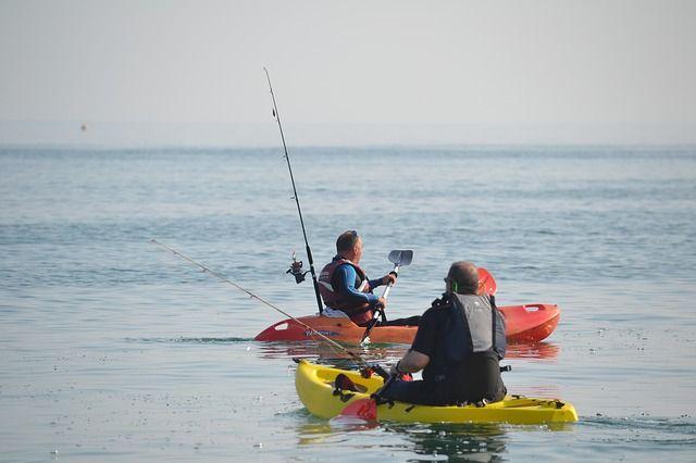 kayak fishing lake