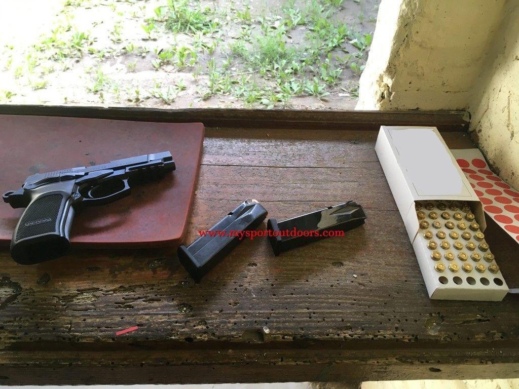 bersa thunder pro shooting range