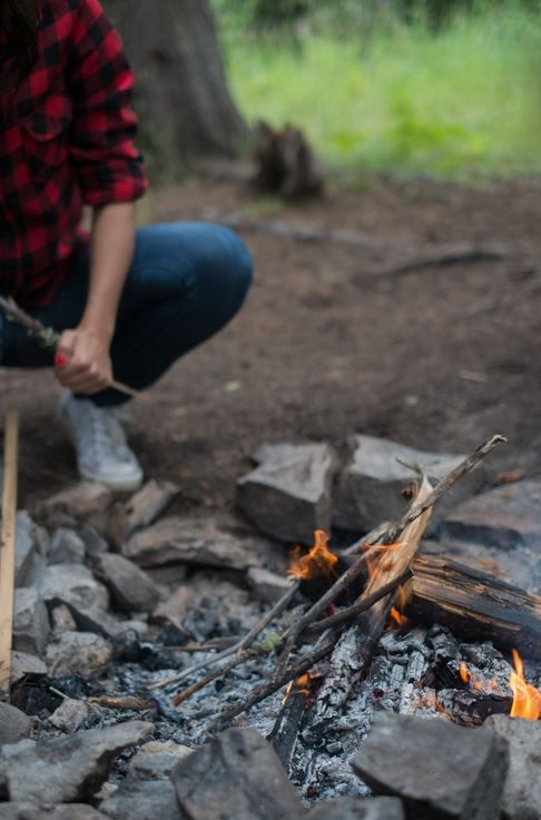 flint fire starter outdoor