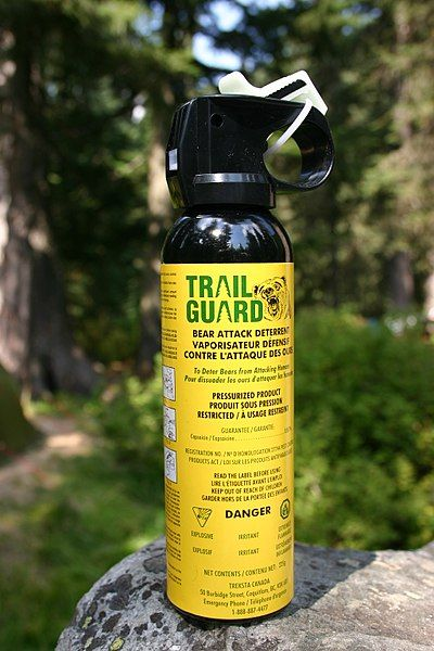 bear spray mace