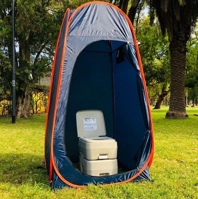 camping toilet full tent