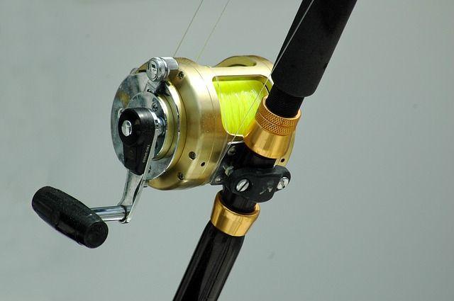 fishing line monofilament reel