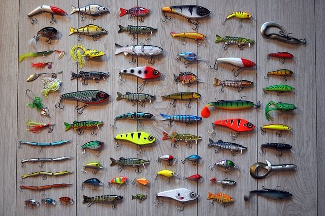fishing lure assorted