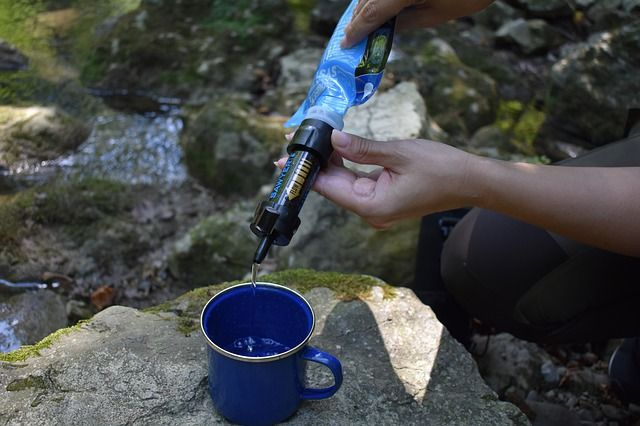 water filter outdoor survival items