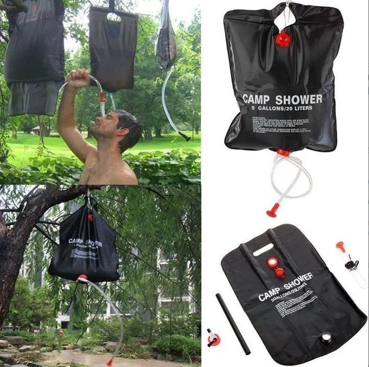 portable outdoor shower solar
